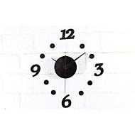 Horloge murale - Rond - Moderne/Contemporain - en Acrylique