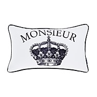 """Modern 12x20"""" Rec Novelty Pillow Cover/Pillow With Insert"""