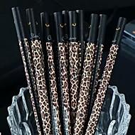 tmavý leopard obilí černý inkoust gel pen (1 ks)
