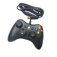 Wired USB Controller for PC & Xbox 360 (Black-White)