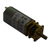 30rpm 13ga 12v 3mm aksel mini dc gearet gearkasse motor for intelligent bil