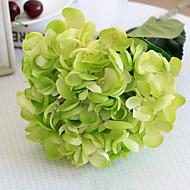 Oversized Green Mermaid Hydrangeas Artificial Flowers Set 2