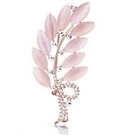 Charm Angel Cat's Eye Stone Fashion Elegant Brooch for Wedding & Party