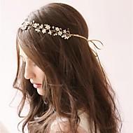 Celada Bandas de cabeza/Flores Boda/Ocasión especial Perla/Rhinestone/Aleación Mujer Boda/Ocasión especial