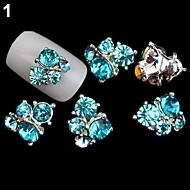 5PCS - Bijoux pour ongles/Paillettes - Doigt/Orteil - en Adorable/Mariage - 4*3*1