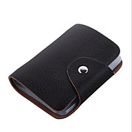WEST BIKING® Unisex Fashion High-grade Soft 26 Card Positions Leather Durable Card Package