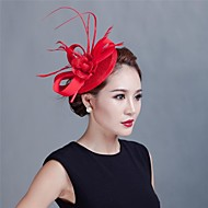 Women Wedding Party Sinamay Feather Fascinators SFC12370