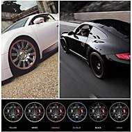 nuovo anello di protezione adesivo cerchione styling auto universale hub automobile 22 '' max decorazione auto 10 colori