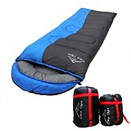 WEST BIKING® Outdoors Thick Warm 1.8kg Limit Minus 8 Degrees Spliced Envelope Hooded Camping Sleeping Bag
