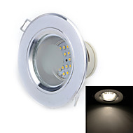 W 36 SMD 3528 240 LM Warm White Recessed Retrofit Recessed Lights / Ceiling Lights AC 220-240 V