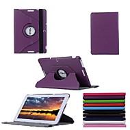 Asus memo pad 10-me103k için 10.1 inçlik 360 derece dönüş standı çantası (çeşitli renk)