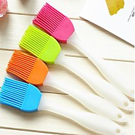 Creative Home Kitchen Silicone Soft Brush To Clean The Brush(Random Color)