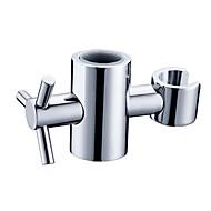 Koupelnové gadgety Broušený nikl Jiné Fits slide bar of 25 mm/0.98 inch outer diameter Mosaz Moderní