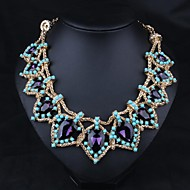 Fashion statement necklace for women new high quality choker necklace with crystal