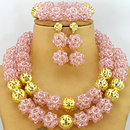 2015 Perfect African Crystal Beads Jewelry Set Nigerian Beads African Wedding Jewelry Set