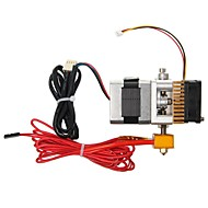 geeetech MK8 alle metall 3d printer ekstruder med kabel