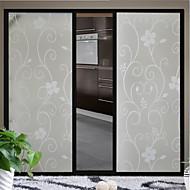 Flower Vine Glass Door Sticker Window Film & Stickers (100*90cm)