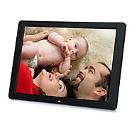 12inch Screen High Resolution 4:3 Super Slim Digital Photo Frame In Full Function for Photo/Music/Video (US+EU Plug)