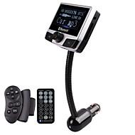 transmisor fm con kit manos libres de coche bluetooth / con mando inalámbrico / bluetooth 2.0 / mp3 juego usb / tarjeta sd