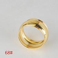 6ks drum tvaru měděný prsten ubrousku