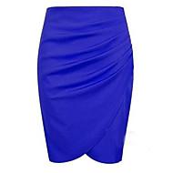 Women's Sexy/Bodycon Skirts , Knitwear Micro-elastic