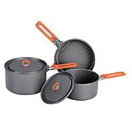 火メープル屋外鍋ごちそう3 2-3ポータブルキャンプ調理器具セット