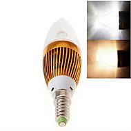 1 kpl dingyao E14 15.0 W Teho-LED 450 LM Lämmin valkoinen/Kylmä valkoinen Kynttilälamput AC 85-265 V