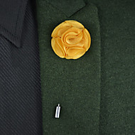 Wedding Flowers Round Roses Boutonnieres(More Colors)