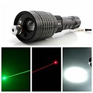 LED Flashlights/Torch / Handheld Flashlights/Torch / Lasers LED / Laser 400 Lumens 1 Mode - 18650 / AAA Adjustable Focus