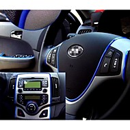 adesivo auto adesivi filo decorazione styling automobile pater coperta interna del corpo esterno modificare decalcomania 6 colori 5m / pz