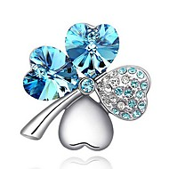 Women's Alloy Brooches & Pins With Rhinestone(More Color)