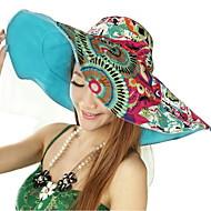 Women Cotton Floppy Hat , Casual Summer