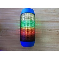 Alto-Falante Bluetooth Sem Fio 2.1 CH Portátil Exterior Suporte de Cartão de Memória Suporte FM disco de suporte usb Luz LED