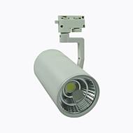 חלק 1 8A Lighting 20 W 1 COB 1800 LM לבן חם/לבן קר מסתובב דקורטיבי תאורה במסלול AC 220-240 V