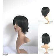 синтетические волосы Новое поступление мужской парики Короткие прямые натуральные анимированные парики косплей парик парики партии 6