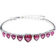 Ladies'/Child's/Women's Alloy Fashion With Crystal Bracelet(More Color)
