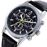 assistir pu relógio de quartzo de couro pulso marca ruiba homem relógios de forma ocasional dos homens (cores sortidas)