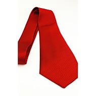 עניבות - מוצק (שחור/כחול/סגול/אדום/צהוב , משי)