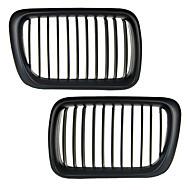 matt svart galler grill njure för BMW E36 3-serien m3 97-99
