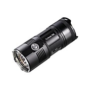 NITECORE TM06 3800 Lumens High Power Tactical 4XCREE XM-L2 U2 LED Flashlight Torch(4X18650, Black)