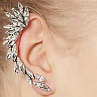 후프 귀고리 여성용 합금 귀걸이 라인석