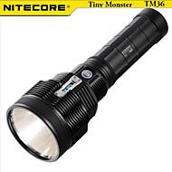 NITECORE TM36 1800 Lumens HAIII Tactical LUMINUS SBT-70 LED Flashlight Torch(NBP52 Battery Pack, Black)