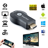 WECAST Miracast Dongle Wifi Streaming to TV Wireless Display as Google Chromecast Digital HD Media Streamer TV Stick