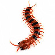 levensechte oranje zwarte duizendpoot afstandsbediening speelgoed