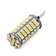 9W G4 LED kukorica izzók T 102 SMD 3528 1200 lm Meleg fehér / Hideg fehér DC 12 V 1 db.