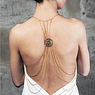 Dámské Tělové ozdoby Tělo Chain / Belly Chain Slitina Jedinečný design Módní Šperky Šperky Párty 1ks
