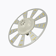 12W תאורת תקרה 60 SMD 2835 1200 lm לבן חם / לבן קר דקורטיבי AC 85-265 V חלק 1