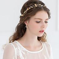 Women Rhinestone/Crystal/Alloy Clover Tiaras/Headbands With Wedding/Party Headpiece