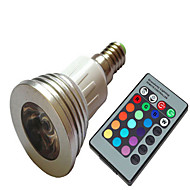 1 pcs  E14 1.5W High Power LED 100-150 LM 2800-3500/6000-6500K Color-Changing Dimmable Spot Lights AC 220V