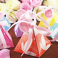 Geschenkboxen ( Orange/Himmelblau/Lavendel/Fuchsia/Gelb/Blau , Kartonpapier ) - Nicht personalisiert - Hochzeit/Brautparty